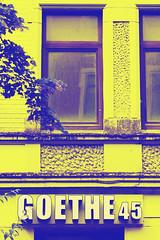 Goethe 45 (Maxi Winter) Tags: building btiment gebude haus maison house duotone bremerhaven knstlerhaus artisthouse maisondesartistes urbanex urbex