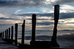 Old Dubmill Point groynes (allybeag) Tags: dubmillpoint beach allonby sunset groynes
