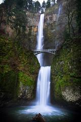 Multnomah Falls (melfoody) Tags: longexposure oregon canon waterfall tripod pacificnorthwest multnomahfalls 5dmkiii melfoody