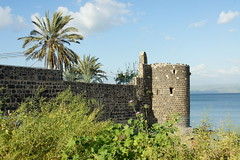 Tiberias and the Sea of Galilee, Israel, March 2015
