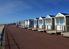 St Annes Beach Huts on the prom (Tony Worrall) Tags: county uk england holiday english buildings private lights town seaside nice stream closed tour open place northwest unitedkingdom country north visit location row tourist tony lancashire resort huts coastal prom area northern update beachhuts stay stannes attraction lancs fylde fyldecoast worrall welovethenorth ©2015 ©2015tonyworrall