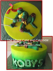 in a half shell (The Whole Cake and Caboodle ( lisa )) Tags: cakes cake turtle ninja mutant raphael whangarei teenagemutantninjaturtles tmnt teenage caboodle thewholecakeandcaboodle