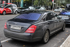 Russia (Moscow) - Mercedes-Benz S500 W221 2010 (PrincepsLS) Tags: berlin germany mercedes benz russia moscow plate s license 500 russian 77 spotting 2010 moskva s500 w221