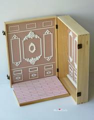 Anniedollz handmade mini doll house for Blythe