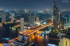 Bangkok the city that never sleeps (www.fromentinjulien.fr) Tags: world city blue light art history rooftop monument digital photoshop canon french thailand effects photography town photo asia long exposure flickr raw photographer view shot bangkok sony skylines hour l asie manual dslr dri hdr ville francais citt blending lightroom photographe effets 2014 2470 photomatix canonef2470mmf28l fromentin lebua fromus colocacin cuida a7r traitements metabones fromus75 fromentinjulien canone2470mmf28liiusm