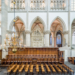 Grote Kerk Breda (robvanesch (www.ruimtesinbeeld.nl)) Tags: old city travel urban holland building brick history tourism church monument netherlands dutch lines architecture vintage town high ancient europe catholic pattern view cathedral basilica interieur famous religion decoration scenic culture illumination belief landmark center scene medieval symmetry architectural illuminated historic christian historical symmetrical aged former christianity wealthy split baroque spiritual markt breda ornamental majestic leading kerk brabant grotekerk cultural wealth decorated monumental evenly