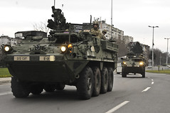 Eagle Troop, 2/2 lands in Bulgaria, Day One, Mar. 29, 2015 (2d Cavalry Regiment) Tags: training germany europe exercise troopers bulgaria oar soldiers arrival gta burgas nato usarmy cougars multinational dragoons vilseck 2cr usareur interoperability grafenwoehr roadmarch jmrc rosebarracks 2ndsquadron grafenwoehrtrainingarea burgasairport novoselotrainingarea 2ndsqdn 2dcavalryregiment operationatlanticresolve tfcougar