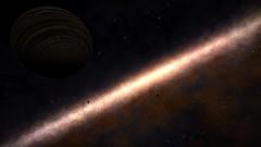 Gas giant in the dark (CMDR Pete) Tags: game screenshot dangerous space elite scifi 12 sim elitedangerous