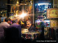 (A Religious Rosary And Beads Wholesaler At Tehran's Grand Bazaar) (Armin Hage) Tags: beads iran rosary tehran wholesale grandbazaar     arminhage