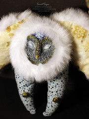 Plush_Owl3 (Sweet_Sign) Tags: snowflake snow storm cute bird art home nature face animal night wow fur wonder toy design beads nice fantastic wings doll soft mask bell handmade spirit sleep miracle interior critter magic snowstorm dream fluffy craft totem plush kind textile fantasy clay gift kawaii owl plushie beast artdoll lovely creature decor blizzard barnowl softtoy fauxfur stichedbyhand sweetsign interiordoll sewitmanually