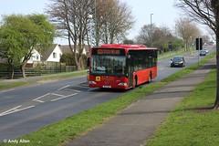 Silverdale OK51BUZ (Andy4014) Tags: nottingham bus silverdale ok51buz