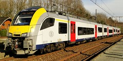 NMBS Trainset N 08119. (Franky De Witte - Ferroequinologist) Tags: de eisenbahn railway estrada chemin fer spoorwegen ferrocarril ferro ferrovia