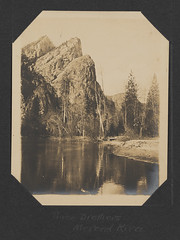 Three Brothers, Merced River (SMU Central University Libraries) Tags: rivers yosemitenationalpark nationalparks rockformations uswest