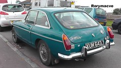1970 MG MGB (Rorymacve Part II) Tags: auto road bus heritage cars sports car truck automobile estate transport historic mg motor saloon compact mgb roadster britishleyland motorvehicle mgmgb worldcars