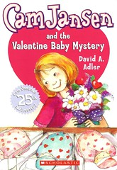 Cam Jansen and the Valentine Baby Mystery (Vernon Barford School Library) Tags: new school fiction mystery hospital reading book high library libraries memories reads books valentine read paperback cover memory thief junior valentines novel covers bookcover middle theft vernon quick thieves recent qr valentinesday bookcovers steal stealing paperbacks mysteries novels fictional stvalentinesday hospitals barford davidadler softcover saintvalentinesday quickreads quickread vernonbarford mysteryfiction softcovers camjansen davidaadler 9780439024662 susannanatti