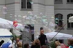 Seifenblasenfabrik Bubblebo Seifenblasenshow beim Tag der offenen Tür im Bundesministerium für Landwirtschaft 2