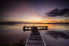 Squid's Ink (Leighton Wallis) Tags: sunset dusk belmont jetty sony australia nsw newsouthwales alpha lakemacquarie f40 1635mm mirrorless a7r squidsink emount ilce7r