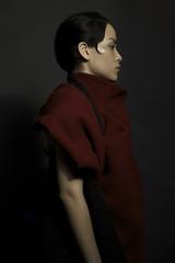 Majo (ho se) Tags: red fashion mexico model twirl chola
