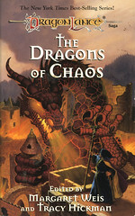 Novel-The-Dragons-of-Chaos-by-Margarey-Weiss (Count_Strad) Tags: dragons adventure elf fantasy novel dungeons tsr dragonlance