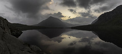 An early morning (MarkWaidson) Tags: mist mountains reflection clouds sunrise lakes cwm llyn idwal