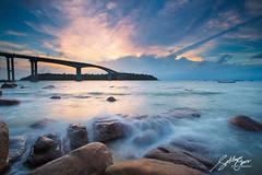 Snake Island Bridge (Sotitia Om Photography) Tags: longexposure bridge sunset seascape sunrise landscape asian photography rocks asia cambodia southeastasia khmer ville snakeisland kampuchea preahsihanouk sotitiaomphotography prahsihanouk cambodianphotographers khmerphotographers