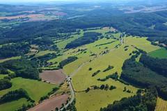 DSC_0185 (jirikoo) Tags: plane woods view dam aircraft sightseeing meadow aerial pasture valley czechrepublic ultralight vltava moldau theczechrepublic orlik pribram