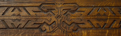 authentic wood carving (intui.pro) Tags: artgallery kamianetspodilskyi ukraine braun wood woodcarving craft skill texture pattern shape hand made