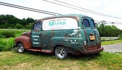 HTT - OUT FRONT MAPES AUCTION HOUSE (Visual Images1) Tags: truck antique thursday htt