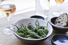 DSC_0669 (soilethecurious) Tags: legs padron peppers ros wine hackney london