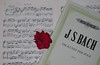 """A Sunday with JS Bach and """"French Suite V.""""   Passer un dimanche avec JS Bach. Which is your favorite Bach composition? (Traveling with Simone) Tags: jsbach bach fugue suites musicians notes melody music indoor still"""