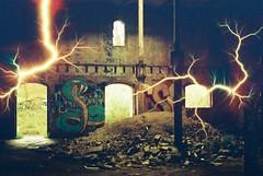 Maltings (Tesla) (goodfella2459) Tags: nikon f4 af nikkor 50mm f14d lens revolog tesla1 200 35mm c41 film analog colour specialty maltings abandoned factory mittagong derelict southern highlands new south wales milf