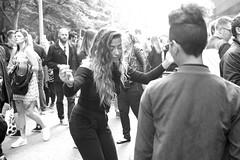 Untitled (Dan Eckberg) Tags: party fun crowd bw dancing girl