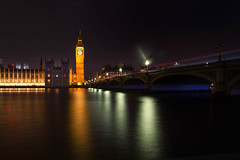 Houses of Parliament (mclcbooks) Tags: bigben riverthames westminster bridge london housesofparliament architecture cityscape reflections longexposure night city