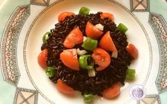 Riso Venere all'insalata con pomodori (RicetteItalia) Tags: nero cucina riso primi ricette
