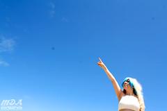 IMG_1764 (MDA Cosplay Photography) Tags: pink blue mountain ontario anime cute beach water pond village collingwood photoshoot princess cosplay tengen manga resort bikini nia swimsuit 2016 toppa gurrenlagann gurren lagann bikinicosplay teppelin gurrenlaganncosplay niacosplay yeticon