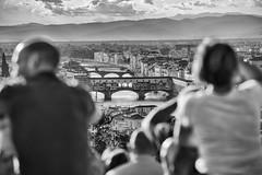 in prima fila dal piazzale Michelangelo (explore) (Guido Pezzatini) Tags: firenze florence toscana tuscany italia italy pontevecchio panorama arte architettura architecture topofflorence