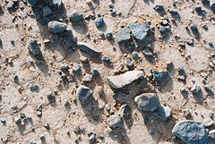 Blade at knapping site (brightasafig) Tags: libya messaksattafet archaeology blade tool neanderthal sapiens knapping desiccation levaloir