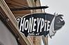 Honeypie Cafe (jpellgen) Tags: mke milwaukee wi wisconsin midwest usa america honeypiecafe honeypie brunch cafe restaurant nikon sigma 1770mm d7000 2016 july summer travel roadtrip sign pig kinnickinnic