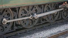 Harmans Cross Station 49 (Matt_Rayner) Tags: swanage railway 34070 manston sr battle of britain class steam train