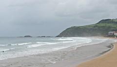 Rainy day in Zarautz (kadege59) Tags: sea espaa seascape storm nature wow spain europa europe vasco euskalherria euskadi spanien baskenland zarautz zarauz bayofbiscay biskaya golfedegascogne golfodevizcaya bizkaikogolkoa