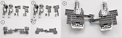 T-70 X wing Instructions (Upper Engines) (Inthert) Tags: lego moc star wars t70 ship instructions resistance x wing bb8 poe force awakens