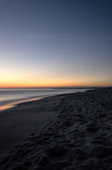 Sea Sunrise (k.tusnio) Tags: sea poland balic batyk polska shore kolobrzeg dzwirzyno piasek sand waves sky night evening mmorning sunrise hdr nikon d5100 nature