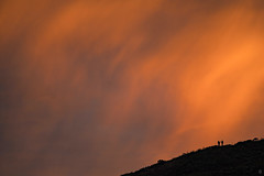 Sunset Burn at Hawk Hill (alittlegordie) Tags: sunset burn bayarea red clouds photography landscape nature
