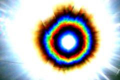 Eye From The Sky (gripspix (Catching up!)) Tags: 20160807 gittermast latticemast sun sonne lensflares processed bearbeitung holgalensforcanon plastiklinse badlens vignettierung