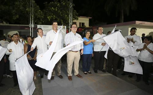 El gobernador, Javier Duarte de Ochoa inauguró la construcción del nuevo Hospital de Alvarado