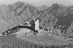 Manakha - (Micheline Canal) Tags: ancien arabie architecture house landscape maison montagne paysage people procheorient village yemen villagemontagnenoiretblanc