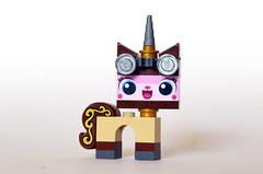 Steampunk Kitty (Oky - Space Ranger) Tags: lego movie unikitty steampunk kitty disney castle tablescrap