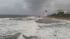 Stormy Seas (Rckr88) Tags: umhlanga umhlangalighthouse lighthouse durban kwazulunatal south southafrica africa storms storm sea water outdoors coast coastline coastal waves wave travel ocean clouds cloudysky cloud cloudy cloudyocean