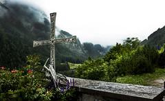 Memorial to Climbers - Heiligenblut (CanonCymru) Tags: heiligenblut alsp austria mountains landscape canon