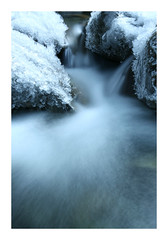 Ice-stream (lawm1) Tags: ice icy stream water rocks waterfall cold frozen frost arthurspass nationalpark southisland newzealand aotearoa nature landscape canon 50d marklaw photography lawm1